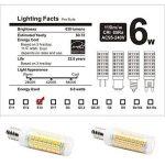 Nouveau type E14 ampoules LED 6 W équivalent à 75 W Ampoule halogène 95–240 V 360 degrés Blanc 6000 K (lot de 2) de la marque 1819 image 4 produit