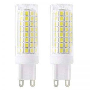 Nouveau type G9 ampoules LED 6 W équivalent à 75 W Ampoule halogène 95–240 V 360 degrés Blanc Froid 6000 K (lot de 2) de la marque 1819 image 0 produit
