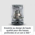 Nouvel Echo Plus (2ème génération), Tissu gris chiné + Ampoule connectée Philips Hue de la marque image 3 produit
