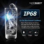 NOVSIGHT 70W 10000LM H1 LED Phare Auto Car Lampe Feux Conversion Ampoule Light 6000K - 2 ans de garantie,Lot de 2 de la marque NIGHTEYE image 4 produit