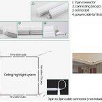 NRG Clever® T5I60CW, Blanc chaud T5 intégré 60CM, Paquet à 2 pièces Tube LED T5 10W 910lm Luce Blanc chaud pour plafond, unités murales et les cuisines, les économies d'énergie - couleur: Blanc chaud 3000K de la marque NRG Clever image 4 produit