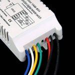 ON/OFF 4-canaux Interrupteur de Lumière sans Fil Numérique avec Télécommande 220V-240V de la marque MagiDeal image 4 produit