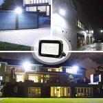 Onforu Lot de 2 pièces 60W Projecteurs LED Exterieur, 6000LM 5000K Blanc Froid, Lampe Mural, IP65 Etanche, Spots LED Extérieur, Eclairage Extérieur LED, Equivalent Lampe Halogène 350W, Puissant Eclairage à grande surface, Spotlight pour terrasse, jardin, image 3 produit