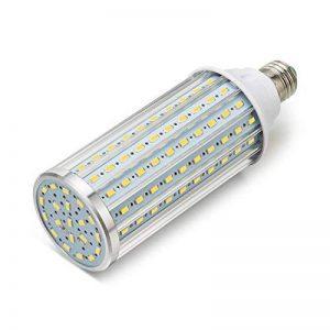 ONLT Ampoule Led, E27 45W 4000K 4450LM 140X5730SMD 450W Ampoule de haute puissance en aluminium de conversion équivalente, AC85-265V, réverbère de LED, 360 degrés projecteur, pour le garage, allée(45W-Lumière naturelle) de la marque ONLT image 0 produit