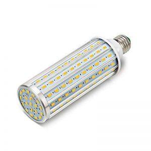 ONLT Ampoule Led, E27 60W 3000K 5850LM 160X5730SMD 550W Ampoule de haute puissance en aluminium de conversion équivalente, AC85-265V, réverbère de LED, 360 degrés projecteur, pour le garage, allée(60W-Lumière chaude) de la marque ONLT image 0 produit