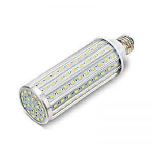 ONLT Ampoule Led, E27 60W 4000K 5850LM 160X5730SMD 550W Ampoule de haute puissance en aluminium de conversion équivalente, AC85-265V, réverbère de LED, 360 degrés projecteur, pour le garage, allée(60W-Lumière naturelle) de la marque ONLT image 0 produit