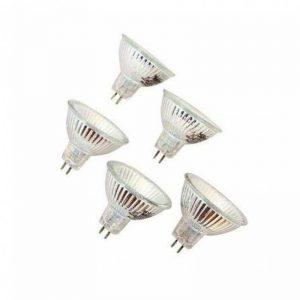 Osram 4050300778358 Ampoule halogènes/Basse consommation Verre 50,00 W GU5.3 Gris 5 Unités de la marque Osram image 0 produit