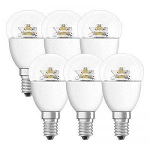 Osram 4052899912106 Ampoule LED Star sphérique Culot E14 6,0 W Transparent Lot de 6 de la marque Osram image 0 produit