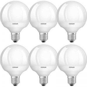 Osram 4052899937956 Ampoule LED Star globe Dépolie Culot E27 9,0 W Blanc Lot de 6 de la marque Osram image 0 produit