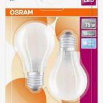 OSRAM 4058075815759 LED 8,00W Froid Standard 4000K, Verre, E27, 8 W, Blanc, 10.5 x 6 x 6 cm de la marque Osram image 2 produit