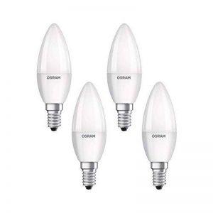 Osram 4058075819474 Ampoule LED Plastique 5,70 W E14 Blanc 4 pièces de la marque Osram image 0 produit