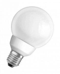 Osram ampoule basse consommation dulux superstar 943736 15 w/825 (correspond à 75 w) avec culot e27 basse consommation de forme sphérique 80 mm (blanc chaud) de la marque Osram image 0 produit