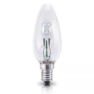 OSRAM ampoule halogène E14 dimmable Classic A / 20 W - Equivalence incandescence 25 W, ampoule halogène en forme de bougie / transparent, blanc chaud - 2700K, lot de 5 de la marque Osram image 0 produit
