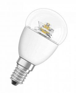 OSRAM ampoule LED E14 dimmable Superstar Classic P Ampoule basse consommation / 4 W– Équivalent à une ampoule incandescente de 25 W, ampoule LED sphérique / transparent, blanc chaud – 2700K de la marque Osram image 0 produit
