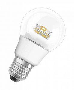 OSRAM ampoule LED E27 dimmable Superstar Classic A Ampoule basse consommation / 6 W– Équivalent à une ampoule incandescente de 40 W, ampoule LED forme classique / transparent, blanc chaud- 2700K de la marque Osram image 0 produit