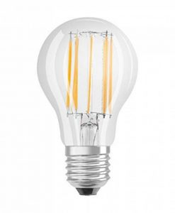 OSRAM Ampoule LED Filament, Forme Classique, Culot E27, 12W Equivalent 95W, 220-240V, claire, Blanc Chaud 2700K, Lot de 1 pièce , Classe énergétique A ++ de la marque Osram image 0 produit