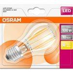 OSRAM Ampoule LED Filament, Forme Classique, Culot E27, 12W Equivalent 95W, 220-240V, claire, Blanc Chaud 2700K, Lot de 1 pièce , Classe énergétique A ++ de la marque Osram image 2 produit