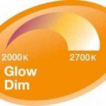 OSRAM Ampoule LED GLOWdim, Forme Classique, Culot E27, 10W Equivalent 60W, 220-240V, dépolie, Dimmable du Blanc Chaud 2700K à Très Chaud 2300K, Lot de 1 pièce de la marque Osram image 3 produit