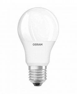 OSRAM Ampoule LED GLOWdim, Forme Classique, Culot E27, 10W Equivalent 60W, 220-240V, dépolie, Dimmable du Blanc Chaud 2700K à Très Chaud 2300K, Lot de 1 pièce de la marque Osram image 0 produit