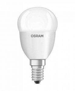 OSRAM Ampoule LED GLOWdim, Forme Sphérique, Culot E14, 6,5W Equivalent 40W, 220-240V, dépolie, Dimmable du Blanc Chaud 2700K à Très Chaud 2300K, Lot de 1 pièce de la marque Osram image 0 produit