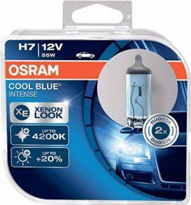 OSRAM COOL BLUE INTENSE H7, Lampe de phare halogène, 64210CBI-HCB, 12V véhicule de tourisme, boîte duo (2 pièce) de la marque Osram image 0 produit