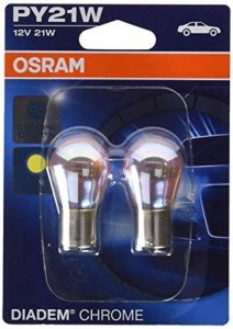 OSRAM DIADEM CHROME PY21W Halogène Lampe d´signal turn signal light 7507DC-02B 12V Blister Double 2 pièce de la marque Osram image 0 produit