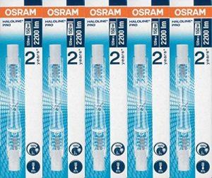 Osram ECO 64695Lot de 5 ampoules Halogènes à économie d'énergie 120W 230V avec culot R7s 74,9mm de la marque Osram image 0 produit
