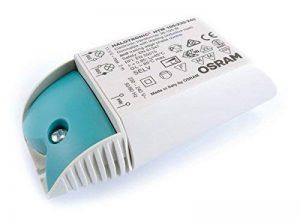 Osram - HTM 105 - Transformateur Halotronic Mouse - Pour halogènes ou LEDs 12 volts - Puissance 35 à 105 Watts de la marque Osram image 0 produit