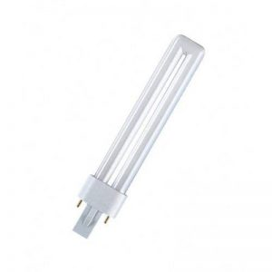 OSRAM Lampe fluo compacte DULUX S 220-240V Culot G23, 7 W 827 Interna de la marque Osram image 0 produit