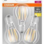 OSRAM lampe LED | Culot: E27 | Blanc chaud | 2700 K | 11 W | Equivalence incandescent : 100 W | dépolie | LED BASE CLASSIC A [Classe d'énergie efficace A++] de la marque Osram image 2 produit