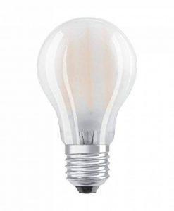 OSRAM LED BASE CLASSIC A / Lampe LED, ampoule de forme classique, avec un culot à vis: E27, 5,20 W, 220…240 V, 40 W remplacement, dépolie, 2700 K, 2pack de la marque Osram image 0 produit
