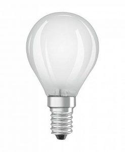 OSRAM LED BASE CLASSIC P / Lampe LED, de forme sphérique: E14, 4 W, 220…240 V, 40 W remplacement, Warm White, 2700 K, 2pack de la marque Osram image 0 produit