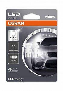 OSRAM LED Premium Retrofit W2.1x9.5d W5W Intérieur 2880CW-02B Cool White 12V Blister Double Set de 2 de la marque Osram image 0 produit