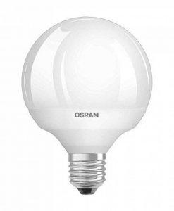 OSRAM LED STAR Ampoule LED, Globe, Culot E27, 12W Equivalent 75W, 220-240V, dépolie, Blanc Chaud 2700K, Lot de 1 pièce de la marque Osram image 0 produit