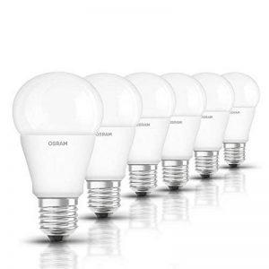 OSRAM LED STAR CLASSIC A ampoule LED / 10.5 W - Equivalence incandescence 75 W, E27, forme classique / mat, blanc chaud, lot de 6 de la marque Osram image 0 produit