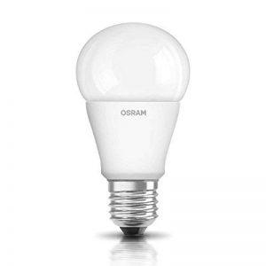 OSRAM LED STAR CLASSIC A / Lampe LED, ampoule de forme classique, avec un culot à vis: E27, 8 W, 220…240 V, 60 W remplacement, dépolie, 2700 K, 1pack de la marque Osram image 0 produit