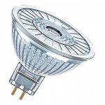 OSRAM LED STAR MR16 / Spot LED, Culot GU5.3, 4,6W Equivalent 35W, 12 V, Angle : 36°, Blanc Chaud 2700K, Lot de 10 pièces de la marque Osram image 1 produit