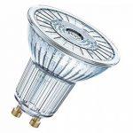 OSRAM LED STAR PAR16 / Spot LED, Culot GU10, 6,9W Equivalent 80W, 220-240V, Angle : 36°, Blanc Chaud 2700K, Lot de 10 pièces de la marque Osram image 1 produit