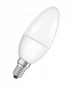 OSRAM LED SUPERSTAR Ampoule LED, Forme flamme, Culot E14, Dimmable, 6W Equivalent 40W, 220-240V, dépolie, Blanc Chaud 2700K, Lot de 1 pièce de la marque Osram image 0 produit