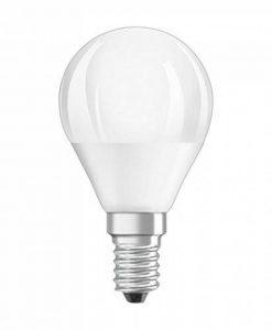 OSRAM LED SUPERSTAR Ampoule LED, Forme sphérique, Culot E14, Dimmable, 6W Equivalent 40W, 220-240V, dépolie, Blanc Chaud 2700K, Lot de 1 pièce de la marque Osram image 0 produit