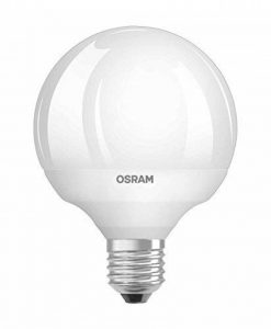 OSRAM LED SUPERSTAR Ampoule LED, Globe, Culot E27, Dimmable, 12W Equivalent 75W, 220-240V, dépolie, Blanc Chaud 2700K, Lot de 1 pièce de la marque Osram image 0 produit