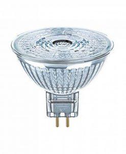 OSRAM LED SUPERSTAR MR16 / Spot LED, Culot GU5.3, Dimmable, 3W Equivalent 20W, 12 V, Angle : 36°, Blanc Chaud 2700K, Lot de 1 pièce de la marque Osram image 0 produit