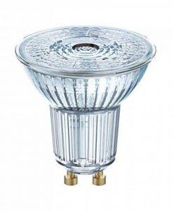 OSRAM LED SUPERSTAR PAR16 / Spot LED, Culot GU10, Dimmable, 7,2W Equivalent 80W, 220-240V, Angle : 36°, Blanc Chaud 2700K, Lot de 1 pièce de la marque Osram image 0 produit
