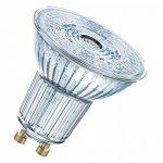 OSRAM LED SUPERSTAR PAR16 / Spot LED, Culot GU10, Dimmable, 7,2W Equivalent 80W, 220-240V, Angle : 36°, Blanc Froid 4000K, Lot de 1 pièce de la marque Osram image 1 produit
