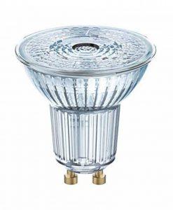OSRAM LED SUPERSTAR PAR16 / Spot LED, Culot GU10, Dimmable, 7,2W Equivalent 80W, 220-240V, Angle : 36°, Blanc Froid 4000K, Lot de 1 pièce de la marque Osram image 0 produit