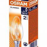 Osram Lot de 5 Ampoule halogène E14 Intensité variable Classic, 46W de la marque Osram image 1 produit