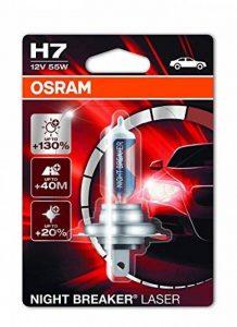 OSRAM NIGHT BREAKER LASER H7, Lampe de phare halogène, 64210NBL-01B, 12V véhicule de tourisme, blister individuel (1 pièce) de la marque Osram image 0 produit