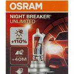 OSRAM NIGHT BREAKER UNLIMITED H7 Lampe Halogène 64210NBU 12V Boîte Pliante de 1 de la marque Osram image 4 produit
