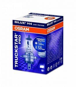 OSRAM TRUCKSTAR PRO H4, Lampe de phare halogène, 64196TSP, 24V véhicule utilitaire, boîte pliante (1 pièce) de la marque Osram image 0 produit