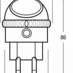 OSRAM - Veilleuse Secteur LED Lunetta - 220-240V - Capteur de luminosité - Orientable à 360° - 52lm de la marque Osram image 2 produit